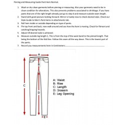 Pinning and Measuring Guide