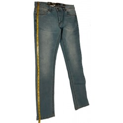 Men's Jean Pant Hem Measure Side Seam